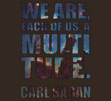 Each Of Us A Multitude [Shirt & White Print] by Karlika