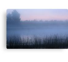 Foggy U.P. Michigan Dawn Canvas Print