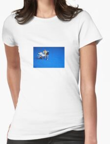 Greedy breakfast guest Womens Fitted T-Shirt