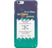 Ariel's Undersea Adventure- Fastpass iPhone Case/Skin