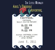 Ariel's Undersea Adventure- Fastpass Kids Clothes