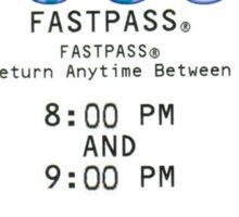 Ariel's Undersea Adventure- Fastpass Sticker