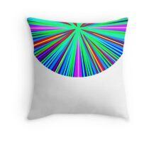Neon Circle Throw Pillow