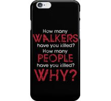 3 Questions iPhone Case/Skin