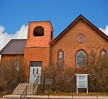 St Paul's Methodist Episcopal Church, Philipsburg Montana by Bryan D. Spellman