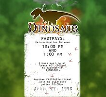 Dinosaur Fastpass by Margybear