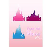 Disney Parks- Take me home Photographic Print