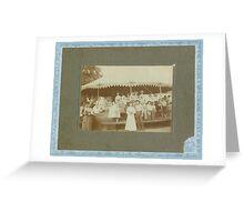 Flora Creason, George, Ann Yates, Mrs Creason Greeting Card