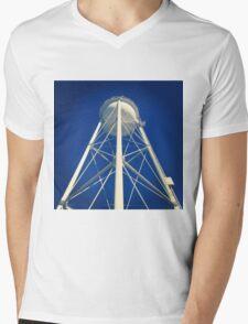UC Davis Water Tower Mens V-Neck T-Shirt