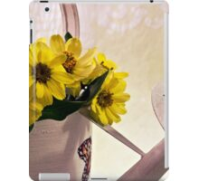 Watering Can Daisies iPad Case/Skin