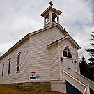 St. Andrew's Episcopal Church, Philipsburg Montana by Bryan D. Spellman