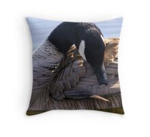 Goose Shapes Throw Pillow