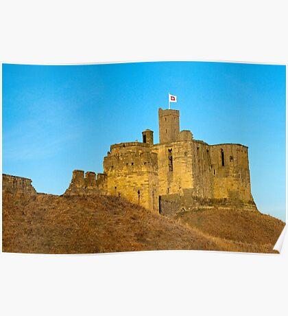 Warkworth Castle Northumberland Poster