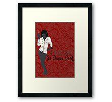 Mia Wallace- So Dance Good Framed Print