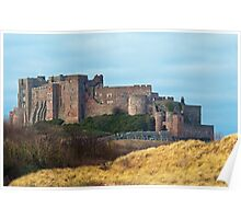 Bamburgh Castle Northumberland Poster