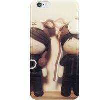 Polymer clay Dan and Phil  iPhone Case/Skin
