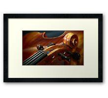 Fine Art Violins Framed Print