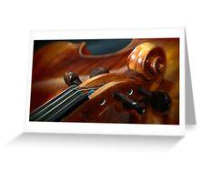 Fine Art Violins Greeting Card