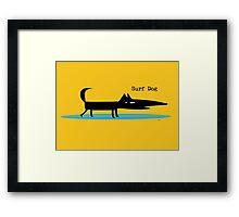 Surf Dog Framed Print