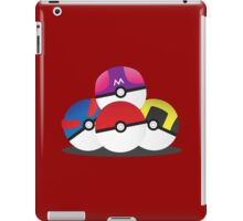 Pocket Monster Receptacles iPad Case/Skin