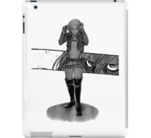 attack on titan annie  iPad Case/Skin