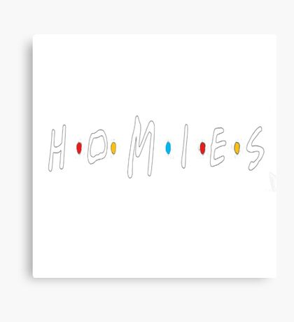 Homies (Friends TV Show) Canvas Print