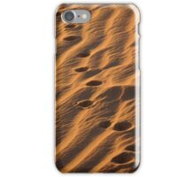 Walk in the Dunes of the Sahara iPhone Case/Skin