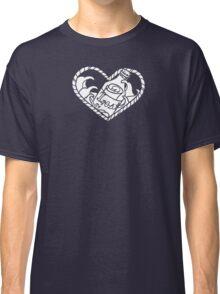 Nautical Neo-traditional design  Classic T-Shirt