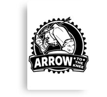 Arrow To The Knee Canvas Print