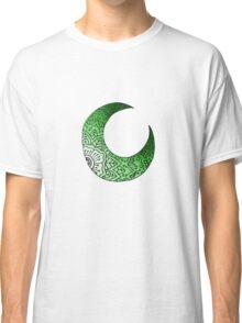 Green Moon Crest  Classic T-Shirt