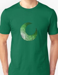 Green Moon Crest  Unisex T-Shirt