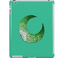 Green Moon Crest  iPad Case/Skin