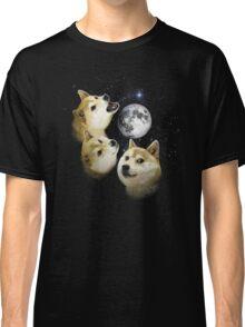 3 Doge Moon Classic T-Shirt