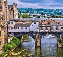Bath, Pulteney Bridge by LudaNayvelt