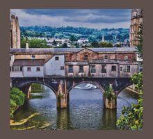 Bath, Pulteney Bridge One Piece - Short Sleeve