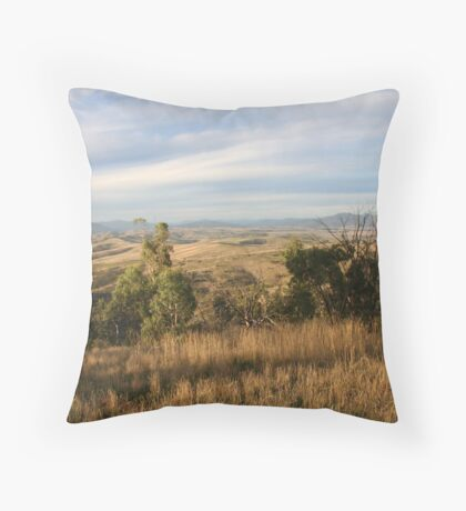 Omeo Valley Throw Pillow
