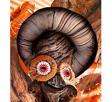 Bagel Head Photographic Print