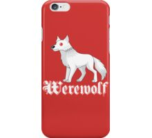 Werewolf V2 iPhone Case/Skin