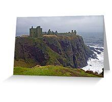 Dunnottar Castle Aberdeenshire Greeting Card