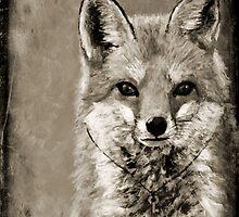 Fox & Key  by VikkiSin