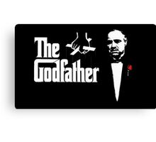Padrino The Godfather Canvas Print