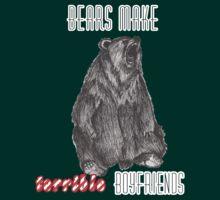Bears make terrible boyfriends by Margybear