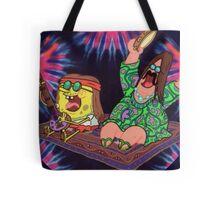 Psychedelic Sponge Tote Bag