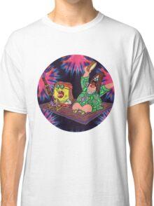 Psychedelic Sponge Classic T-Shirt