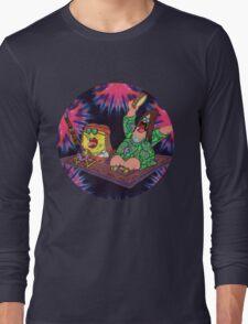 Psychedelic Sponge Long Sleeve T-Shirt
