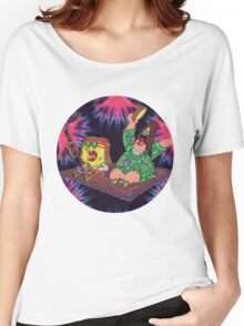 Psychedelic Sponge Women's Relaxed Fit T-Shirt