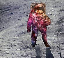 I wish I was a spaceman- Nebula print by Margybear