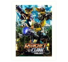 Ratchet & Clank Trilogy  Art Print