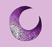 Purple Moon Crest by MRLdesigns