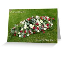 In Deepest Sympathy.... (Card) Greeting Card